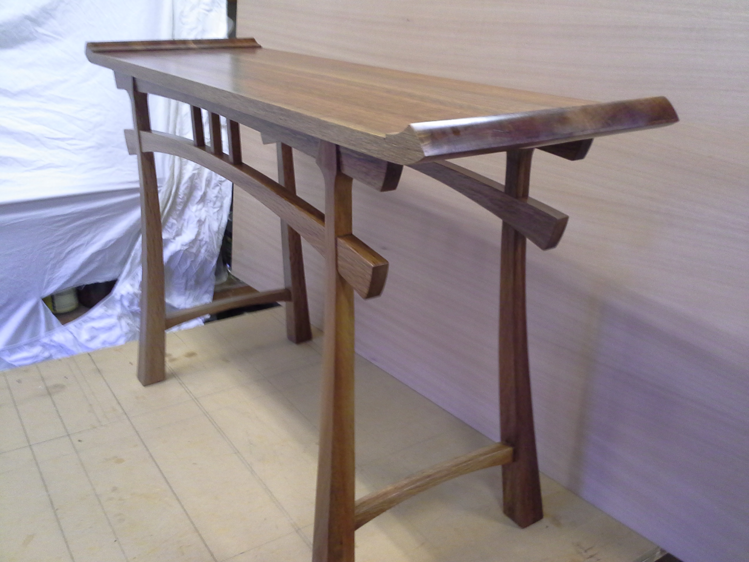 High Quality I Seem To Be Becoming More Obsessed With Japanese Style And Philosophy As  Evidenced By This Latest Table.I Have Made One Of These Previously And Got  Such A ...